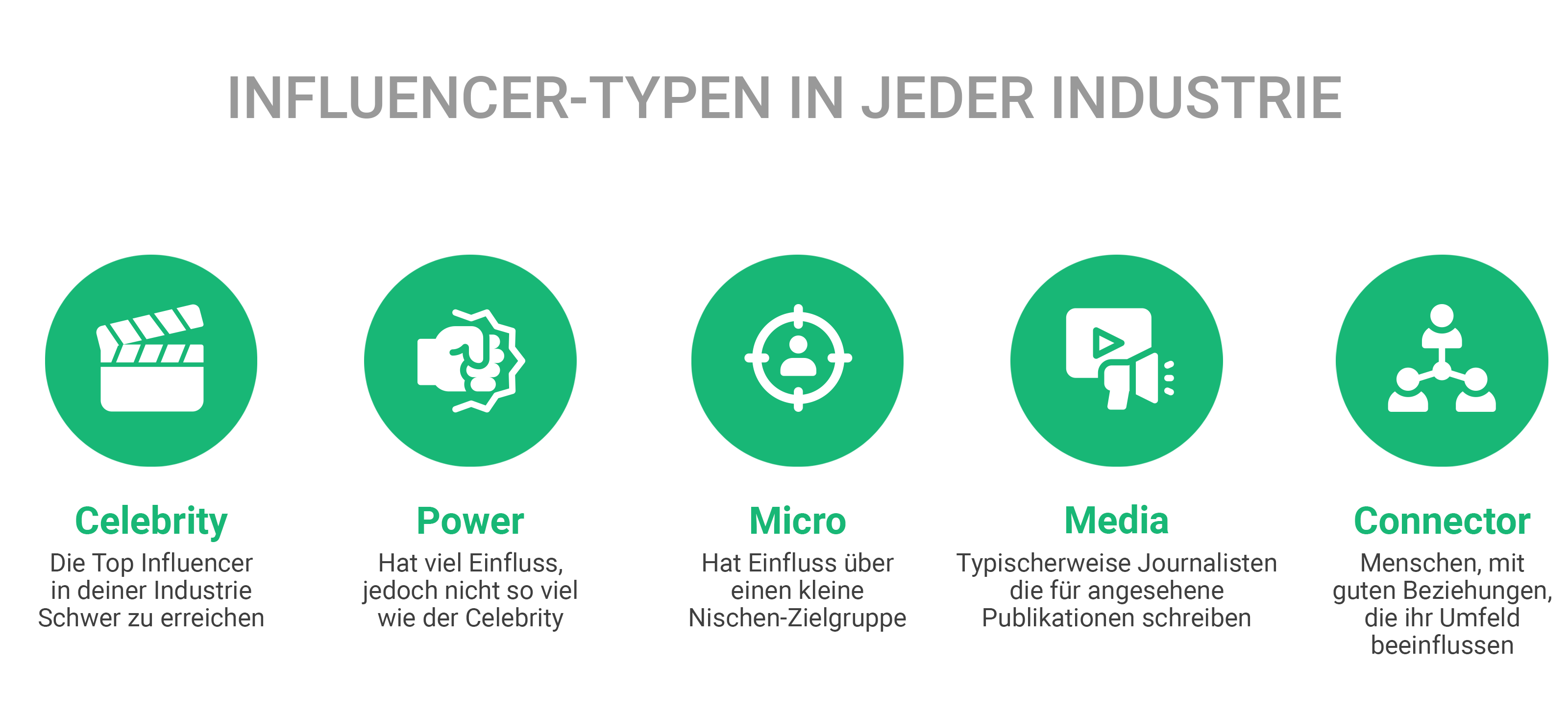 Storyclash Influencer Types